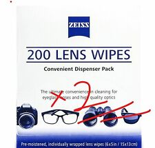 402 x Zeiss Lens Cleaning Wipe Camera Glasses Optical iPad iPhone Mobile MELB!