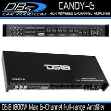 DS18 CANDY-6 6 Channel Car Audio Amplifier 1800W Fullrange Class D Speaker Amp