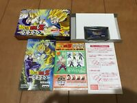 Gameboy Advance DragonBall Z BukuTougeki with Box,Manual Japan