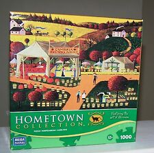 HOMETOWN COLLECTION - CAMBRIA FARMERS MARKET - 1000 PC PZL - COMPLETE!!