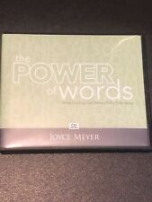 Joyce Meyer The Power of Words  Audio CD