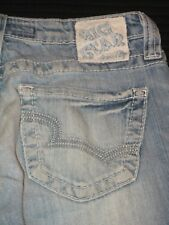 Big Star Jeans Remy Low Rise Bootcut Stretch Distressed Sz 26