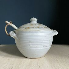 Danish Mid Century Soup Tureen with Lid and Ladle
