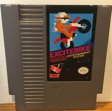 Excitebike Nintendo NES Game Cartridge Cleaned Tested Guaranteed 60 Days