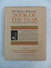 BRITANNICA BOOK OF THE YEAR 1970- Events of 1969 Birthday Anniversary Gift