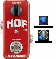 New TC Electronic Hall of Fame Mini Reverb Guitar Effects Pedal HOF TonePrint