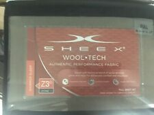 NIP Sheex Wool Tech Sheet Set Full Stone