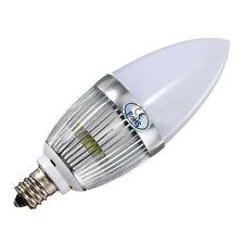 E12 3W LED Candle Lamp Candelabra Candlestick RGB Spot Light Bulb DT