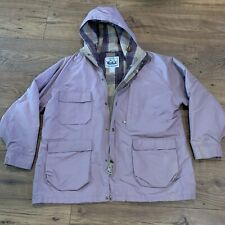 Vintage Woolrich Jacket Women's XL Wool Liner Made In USA