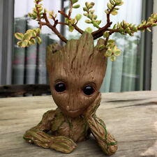 """5.5"""" Guardians of The Galaxy Baby Groot Figure Flowerpot Style Pen Pot Toy Gifts"""