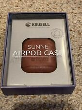 Krusell Sunne AirPod Case Apple AirPods - Red
