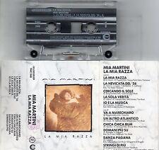 MIA MARTINI musicassetta MC MC7 originale LA MIA RAZZA 1990 ENRICO RUGGERI POOH