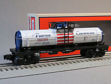LIONEL PATRIOT SINGLE DOME TANK CHEMICAL CAR o gauge train tanker USA 6-82186
