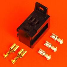 Micro Relay Base Holder Y Soporte De Montaje + 5 Terminales-Para 4 Pin relés