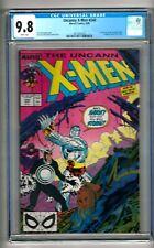 """Uncanny X-Men #248 (1989) CGC 9.8 White Pages Claremont - Lee  """"Longshot"""""""