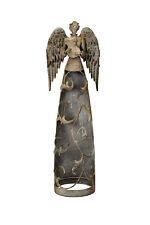 stilvoller Engel mit Harfe 58cm  Dekoration Weihnachten Winter Advent floral
