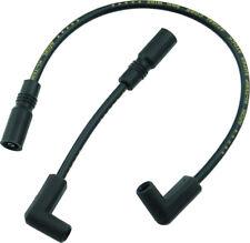 Spark Plug Wire Set 8mm Black Accel 171097-K For 99-17 Harley-Davidson Dyna