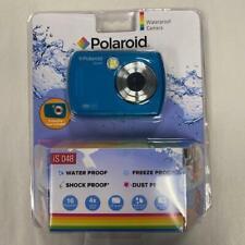 Polaroid iS048 Waterproof Camera - Teal - Brand New