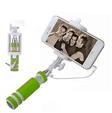 Green Mini Handheld Extendable Selfie Stick For Nokia 10 Nokia 8 Nokia 6 Nokia 5