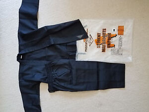 new tiger claw size 00 black martial arts gi uniforms with pants tc 2000