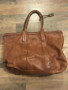 Frye Sylvia Tote Leather Bag Purse Authentic Super Clean Large Melissa Style