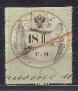 Artikel Austria revenue 18 fl C.M. 1854 Stempelmarke fiscal