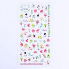 Mehrfarbige Nail-Art Sticker