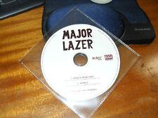 Major Lazer ft.Ezra Koenig of vampire Weekend- Jessica - Cd Promo