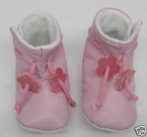Baby Girls Pink Booties Boots Pram shoes New 0 to 12 months first shoes