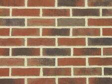 Feldhaus Klinker-Riemchen NF rot Kohlebrand Fassadenkleberiemchen