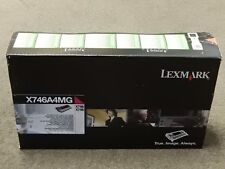Lexmark X746A4MG Magenta Toner Cartridge X746 X748 Genuine New Sealed Box