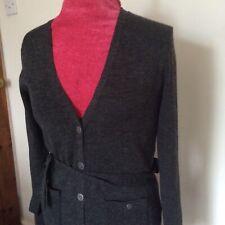 Principles grey long cardigan/ coat size 12