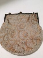 Vintage Micro Bead Purse Made In France