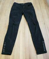 Rewash Brand Junior's Women's Black Distressed Skinny Jeans Size 3