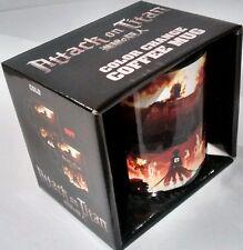 Attack on Titan Heat color Change coffee Mug New in Box manga