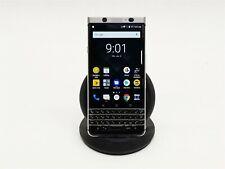 "Blackberry KEYone 4.5"" 32GB Android Silver Keyboard Smart Phone BBB100-3 Sprint"