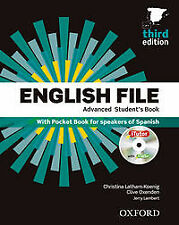 (15).(PACK+KEY).ENGLISH FILE ADVANCED 3ªED.. ENVÍO URGENTE (ESPAÑA)