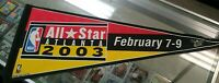 NBA All-Star Weekend Felt Pennant February 7-9 2003 Atlanta Basketball VTG