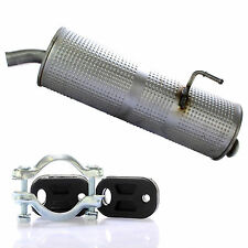 Auspuff Endschalldämpfer Endtopf + Montagesatz Set für Peugeot 206 1.1i 1.4.i