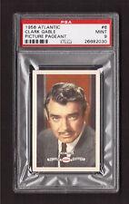 Clark Gable GWTW 1958 Atlantic Picture Pageant Film Star Card #6 PSA 9 MINT