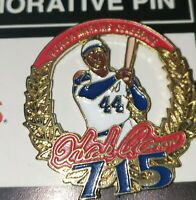 Florida Marlins Hank Aaron Pin SGA 4/8/1999 Commemorative Stadium Giveaway miami