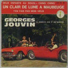 Pochette Auto MG 45 tours Georges Jouvin 1962
