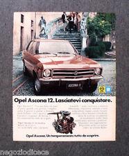 P568 - Advertising Pubblicità -1973- OPEL GM , ASCONA 12
