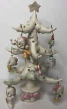 Lenox Fine Ivory China Looney Tunes The Tweety Christmas Tree with Ornaments