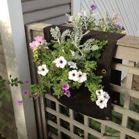 Delectable Garden 2 Pocket Saddlebag Vertical Garden Planter