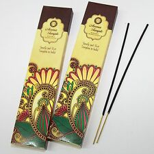 Räucherstäbchen Aroma Temple Indien-Tempel Duft  Lieblingsduft  2 x 15 g Hippie