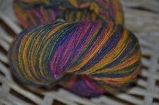 100% Schurwolle Tücherwolle Schafwolle Lace Strickgarn handgefärbt *142* LL 700m
