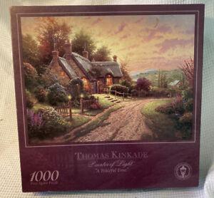Factory Sealed Thomas Kinkade 1000 Pc Puzzle A Peaceful Time 2001