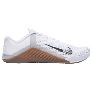 Nike Metcon 6 White/Gum Mens Cross Training Shoes 2020 All NEW