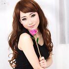 24K Gold Rose Foil Trim Dipped Real Flower Love Forever Women Valentine Gift Box